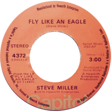 Fly Like an Eagle by Steve Miller US vinyl A-side.png