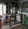 Flying Shuttle Loom in Weaver's Cottage Museum - geograph.org.uk - 528759.jpg