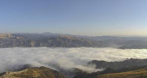 Santa Clara River Valley - Image: Fog in the Santa Clara River Valley
