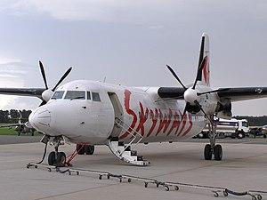 Skyways (airline) - Skyways Express Fokker 50