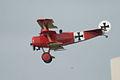 Fokker Dr.I Manfred Richthofen Last Pass 05 Dawn Patrol NMUSAF 26Sept09 (14413254660).jpg