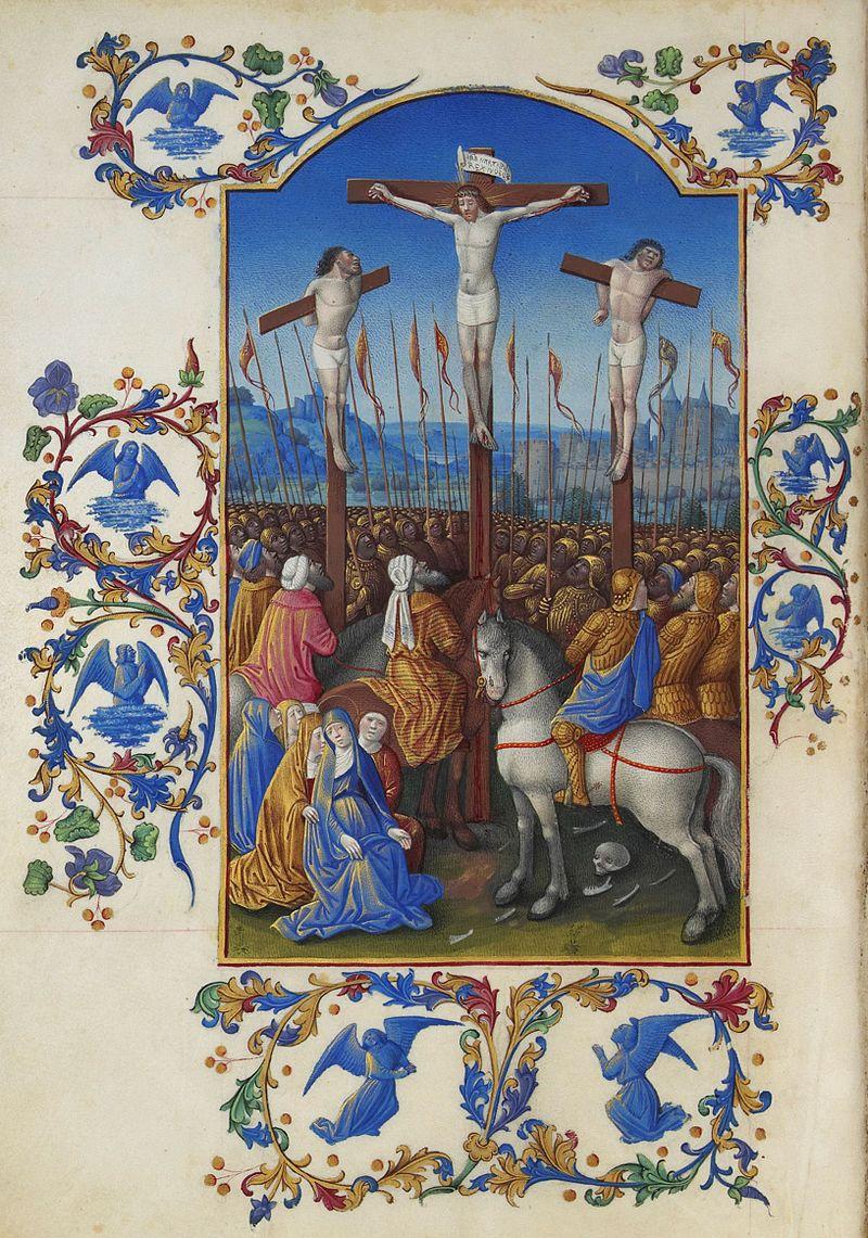 Folio 152v - The Crucifixion.jpg