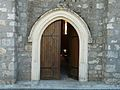 Fonroque église portail.JPG