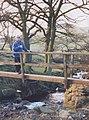 Footbridge over Cumberland Brook - geograph.org.uk - 239568.jpg
