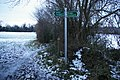 Footpath crosses the London Loop - geograph.org.uk - 2210564.jpg