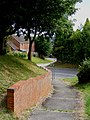 Footpath from St Katherines Way to Northchurch House - geograph.org.uk - 1456964.jpg