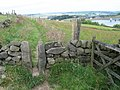 Footpath near Leeming Reservoir - geograph.org.uk - 1375687.jpg
