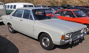 Ford P7 - Ford 17M (P7b) with four doors
