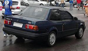 Ford Verona - Image: Ford Verona LX rear