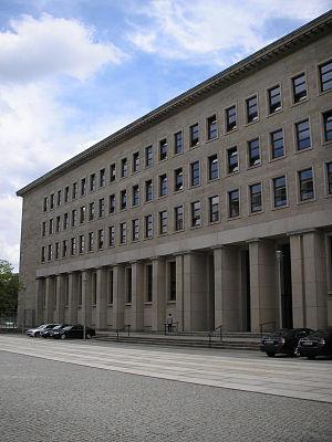 Former Reichsbank building - Former Reichsbank building in 2007