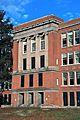 Former Washington HS (Portland, Oregon) in 2013 - full height of building at main entrance.jpg