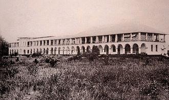 Former general Hospital of Douala - Image: Former general Hospital of Douala