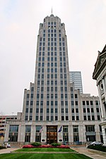 Built in 1930, the Lincoln Bank Tower was the tallest building in the state until 1962.