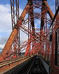Forth Bridge in Schottland