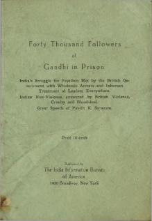 Forty Thousand Followers of Gandhi in Prison.djvu