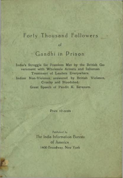 File:Forty Thousand Followers of Gandhi in Prison.djvu