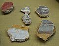 Fragments de pintura mural romana, museu Soler Blasco de Xàbia.JPG