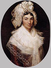 Portret van Jeanne Bauwens-van Peteghem