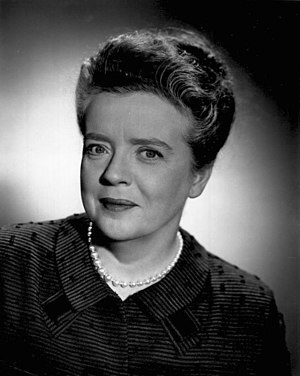 Frances Bavier - Bavier in 1964.