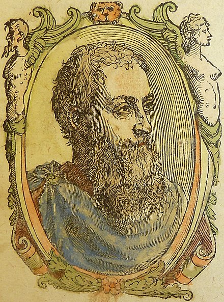 Portrait of Francesco Sansovino