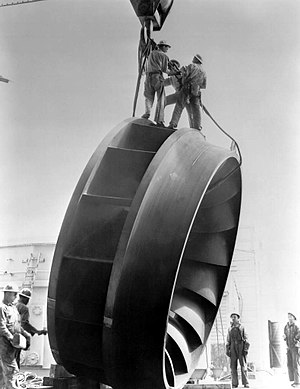 Francis turbine - Francis Runner, Grand Coulee Dam