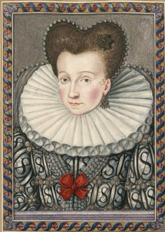 Francoise d'Orléans, Princess of Condé by an known artist