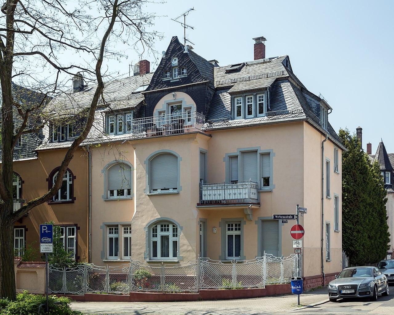 file frankfurt am main arnsteiner strasse 1 von nordosten. Black Bedroom Furniture Sets. Home Design Ideas