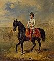 Franz Adam - Kaiser Franz Joseph I. von Österreich zu Pferd.jpg