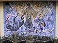 Franziskus mosaic by Annie Eisenmenger, Zoo Schönbrunn.jpg