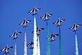 Frecce Di Tricolori - RIAT 2013 (14532232912).jpg