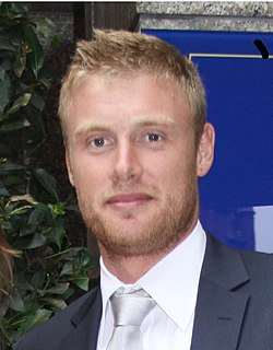 Andrew Flintoff English cricketer and TV personality