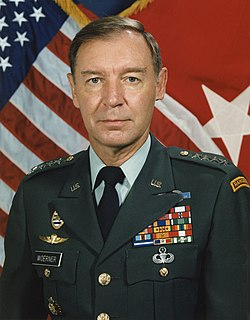 Frederick F. Woerner Jr. United States Army general