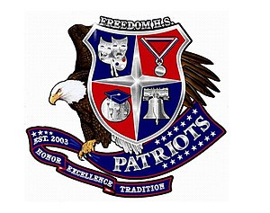 Freedom High School (Orlando, Florida) - Image: Freedom High School (Orlando, Florida) logo
