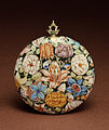 French - Enameled Watch with Flowers - Walters 58140 - Back.jpg