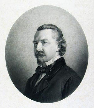 Friedrich Wilhelm Kücken - Portrait of the composer