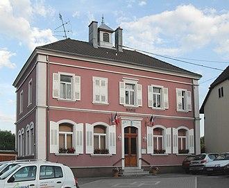 Friesen - The town hall in Friesen