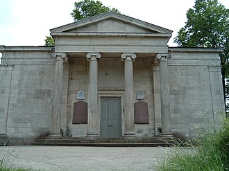 York Cemetery, York - The cemetery Chapel