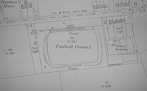 York City F.C. - York played at Fulfordgate from 1922 to 1932.