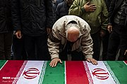 Funeral procession of a victim of Ukrainian Boeing 737-800 plane crash in Tehran 2020-01-20 10.jpg