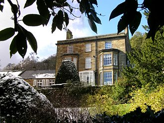 Fyling Hall School - Main House in winter and in summer