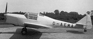 General Aircraft Cygnet - The first Cygnet with original tail and undercarriage