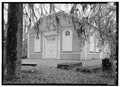 GENERAL VIEW FROM SOUTHWEST, EXTERIOR - St. James' Protestant Episcopal Church, Goose Creek, Berkeley County, SC HABS SC,8-GOOCR,1-7.tif