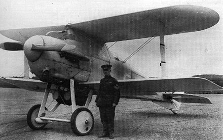 The Gloster Mars, a derivative of the Nieuport Nighthawk