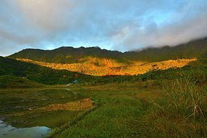 Galunggung - Image: Galunggung Mountain Beautiful Morning