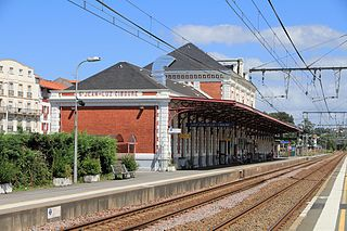 railway station in Saint-Jean-de-Luz, France