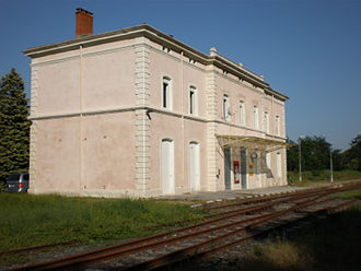 Bessèges - Former railway station