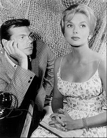 Gary Lockwood Leslie Parrish 1962.JPG
