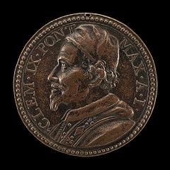 Clement IX (Giulio Rospigliosi, 1600-1669), Pope 1667 [obverse]
