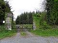 Gate entrance, Mayhill - geograph.org.uk - 1865341.jpg