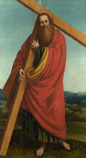 File:Gaudenzio Ferrari - Saint Andrew (?) - Google Art Project.jpg